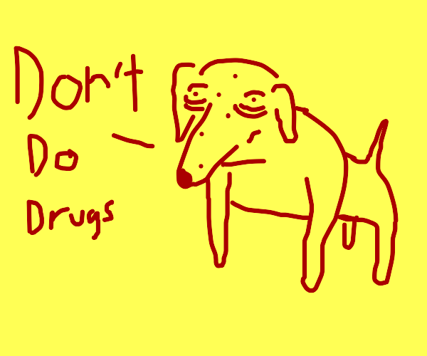 Clifford the big red heroin addict