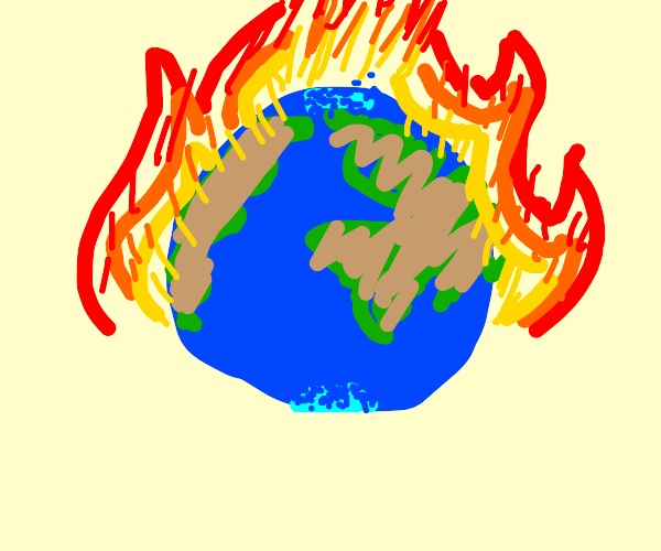 earth dying