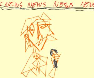 Abstract News Anchor
