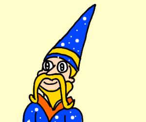 blond wizard