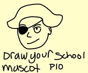 Your School Mascot PIO!(Mine-RedDevils)