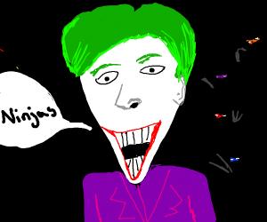 joker says the n word