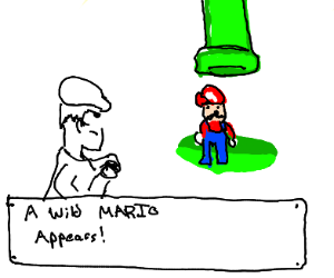 A wild Mario has appeared!