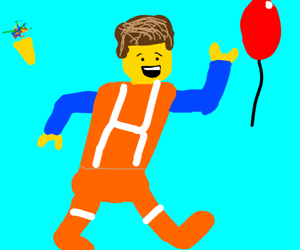 Lego mans Partying!