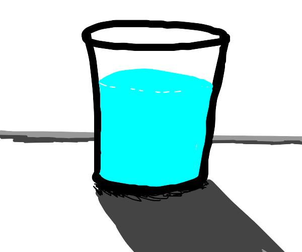 Heckin....... water I guess