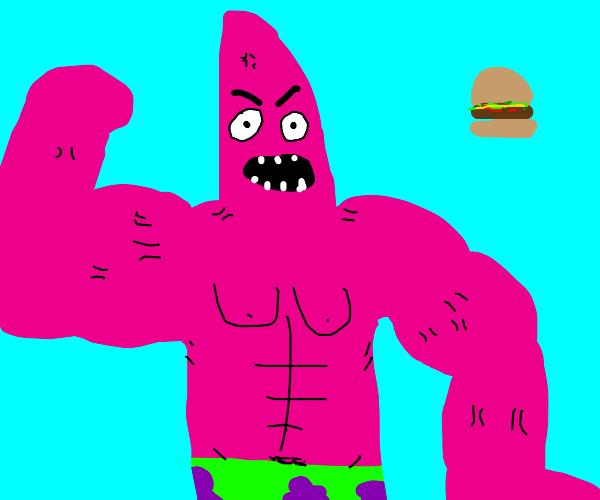 Buff Patrick Star