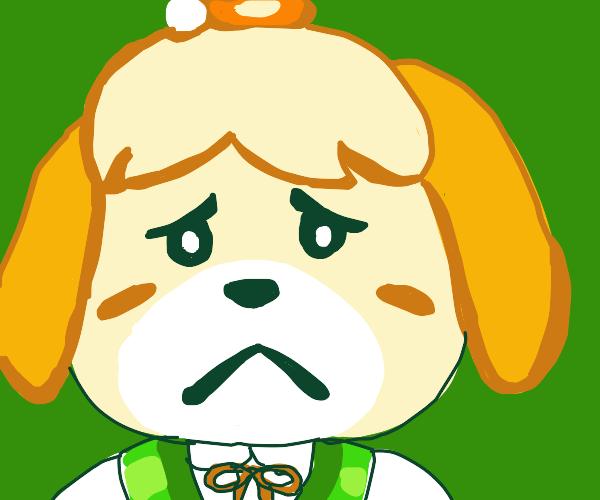 Sad Isabelle :c