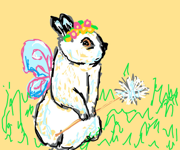 The Majestic Bunny Fairy