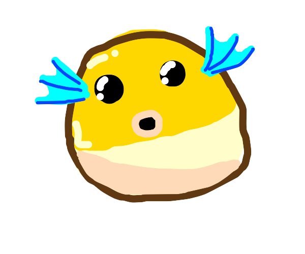 a puffle from minecraft