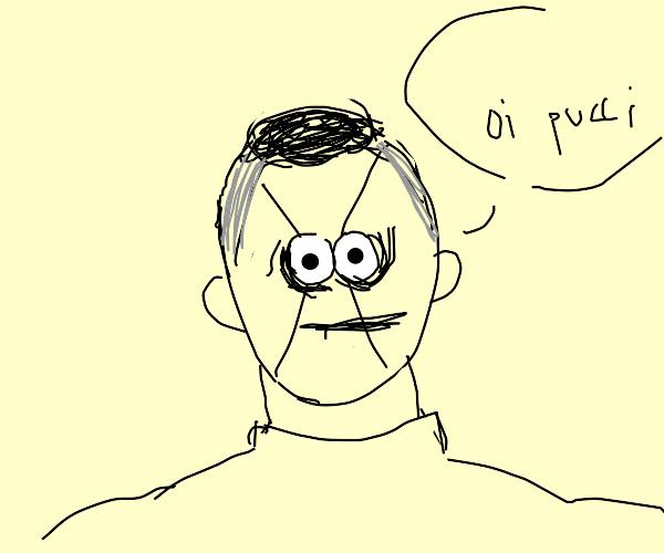 """Okuyasu says """"Oi Pucci"""""""