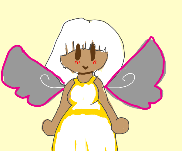 Girl with Wings