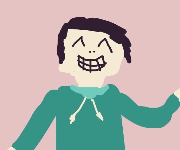 Smiling man :)