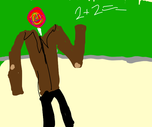 lollypop-head teacher