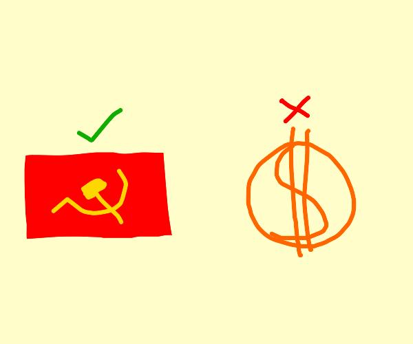 communism not capitalism