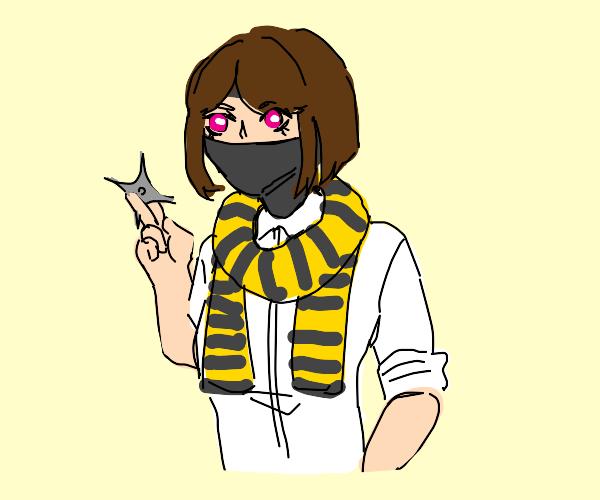 Ninja Girl is a Hufflepuff