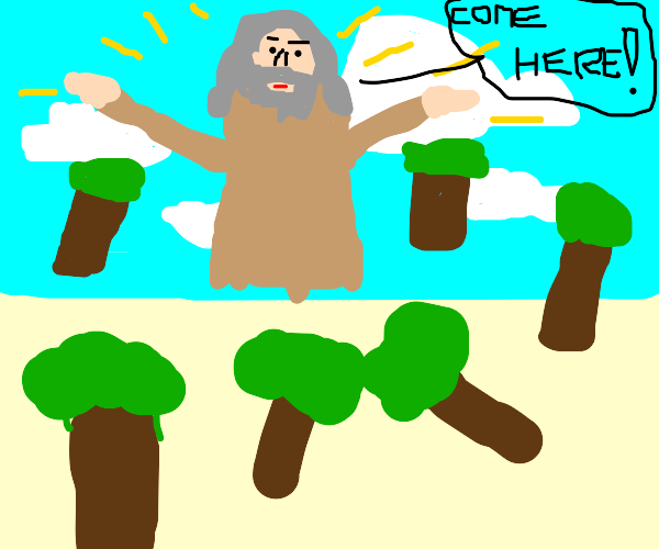god summons trees