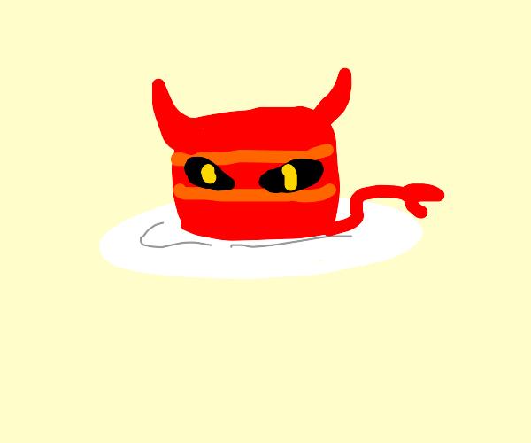 Demonic cake