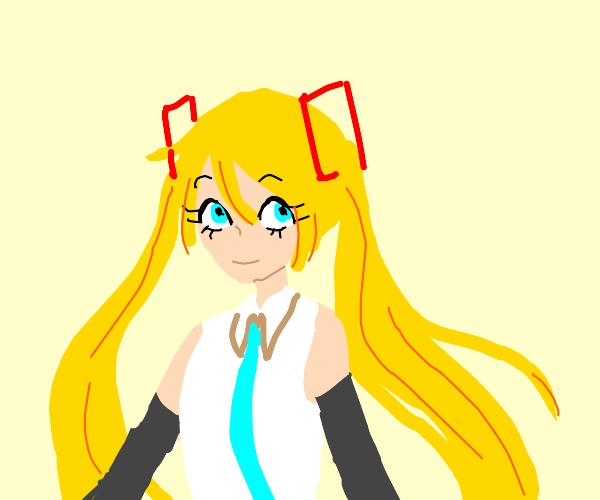 Blonde Vocaloid (Not twins)