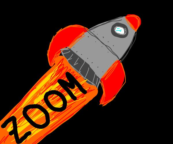 Rocket go zoom