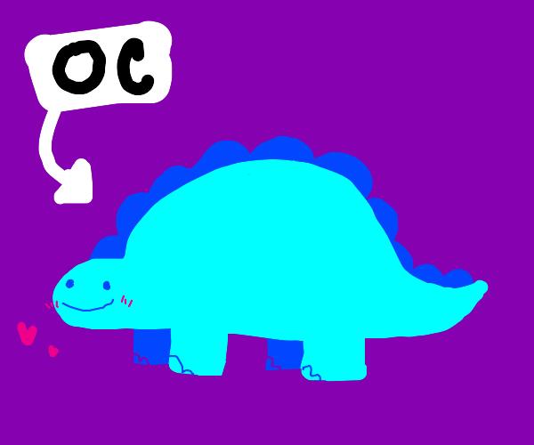 dinosaur oc