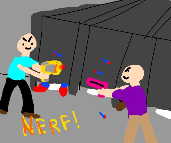 Nerf Restroom
