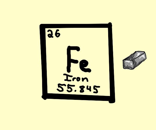 The element iron