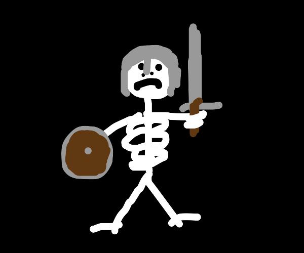Skeleton soldier