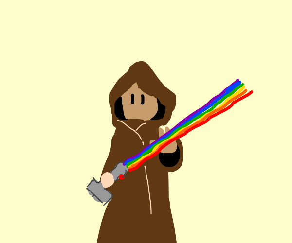 Jedi is gay