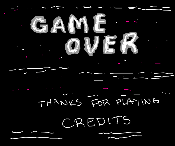 Step 5: You finished the game! Congrats!!!!!!