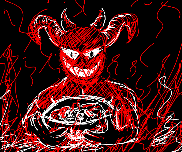 devil cook poisons food