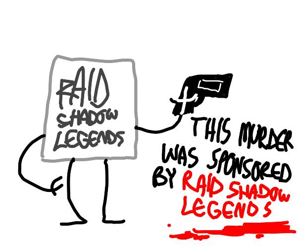 Raid shadow legends assasinates someone