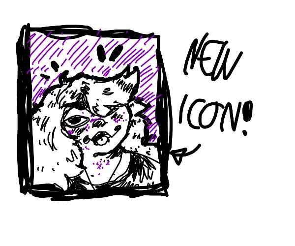 draw my new icon!