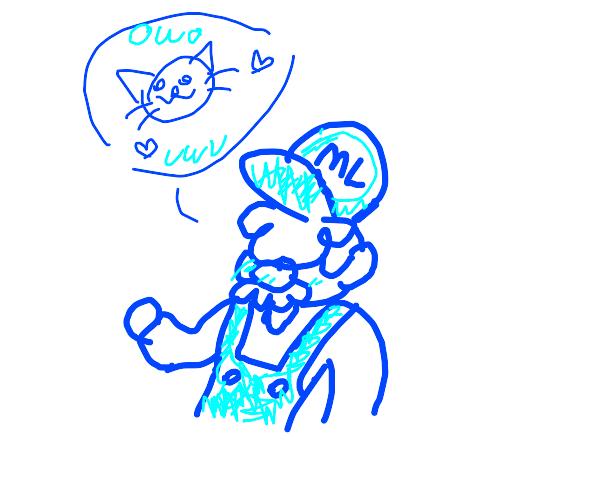 Mario&Luigi lost brother talks about his cat