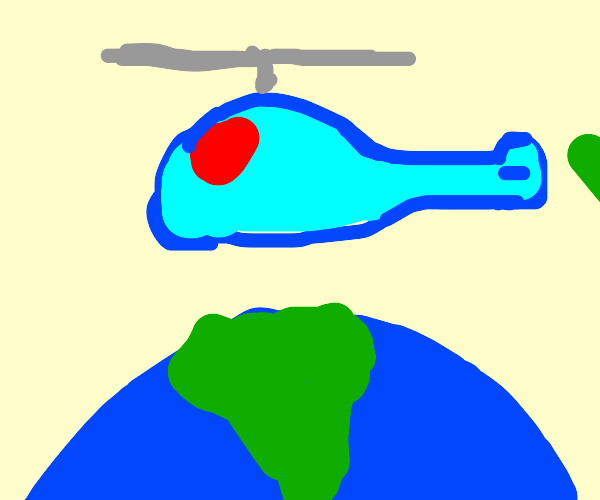 possessed helicopter wants world domination