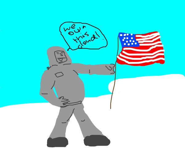 USA occupies a cloud