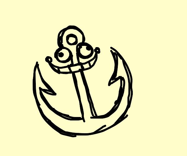 Happy anchor
