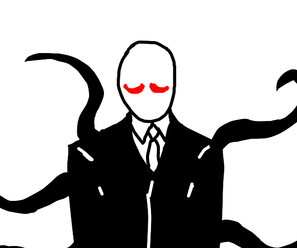 Slender man with red mustache
