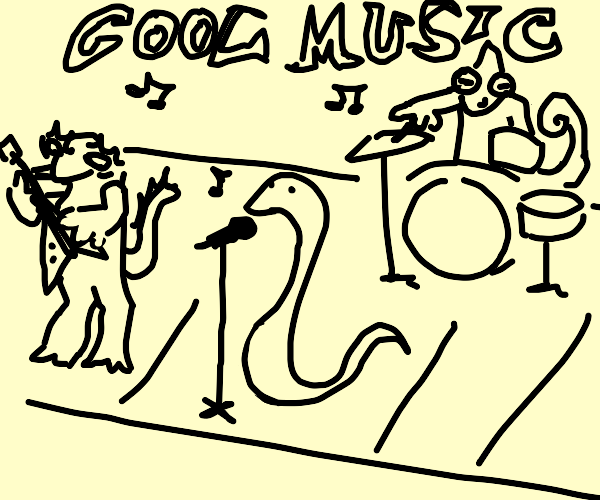 REPTILE BAND. THEY DO BE VIBIN' DOE...