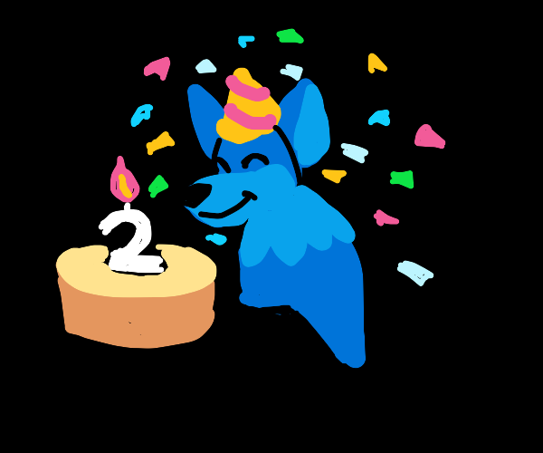 Furry is celebrates 2nd birthday