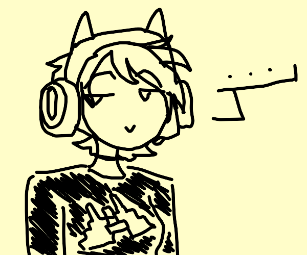 a smug gamer with nothing to say