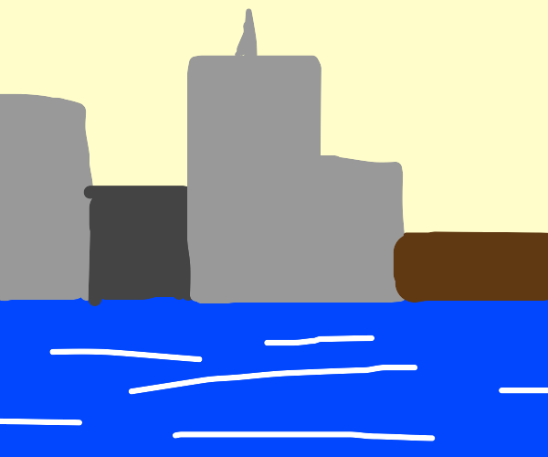 A city by a body of water