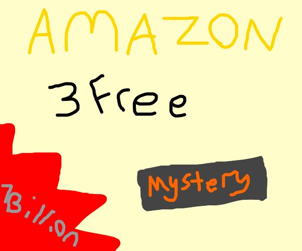 Amazon scam listing