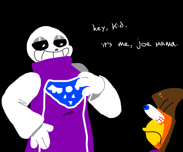 Sans switches bodies with Toriel