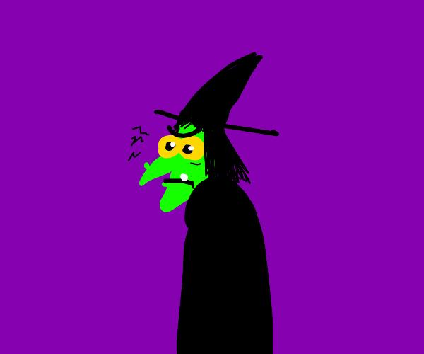 Cranky witch