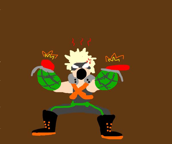 angry man w powers