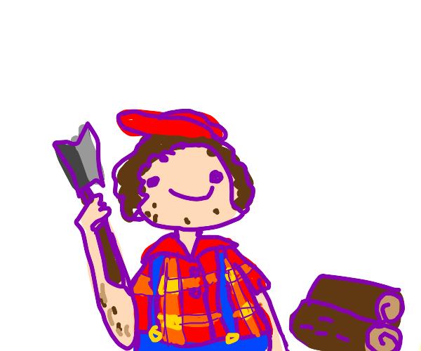 Happy Lumberjack