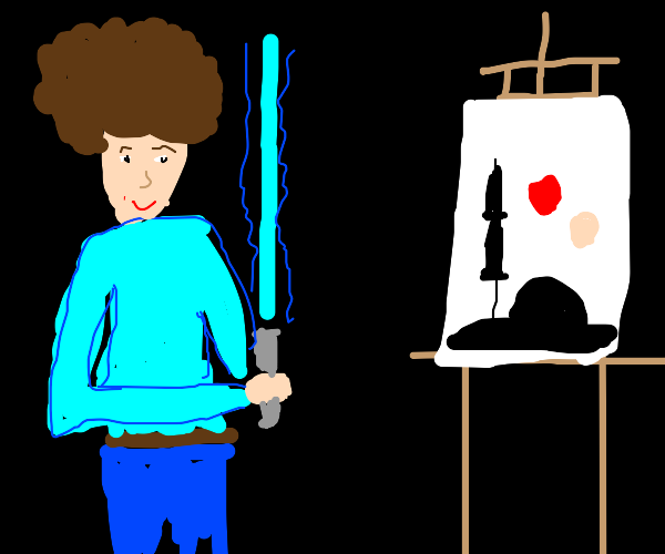 Jedi painter