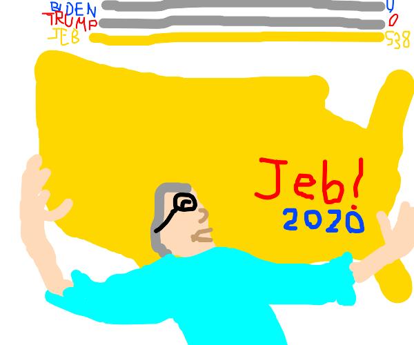 Jeb Bush runs for president