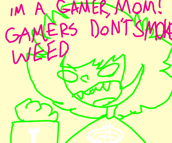 Gamers dont smoke W''D
