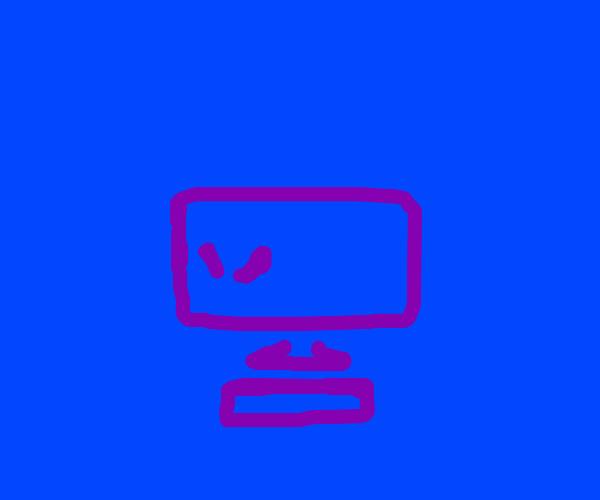 A angry computer